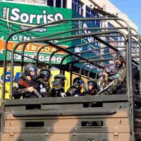 Grupo do 6º Pelotão de Polícia do Exército que integra a Brigada de Operações Especiais. Fotos de João Carlos Barreto Especial para DefesaNet