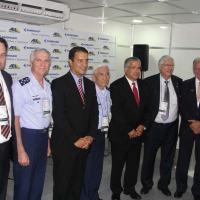 Comando da FAB, Presidente da EMBRAER Defesa e Segurança, AEL Ssistemas e ELBIT Foto Defesanet