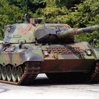 Leopard 1A5BR, dos quais o Brasil adquiriu 250 carros  Foto -  KMW