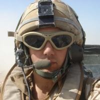 Óculos Tático produzido pela Revision em uso pelas tropas - Foto - Revision