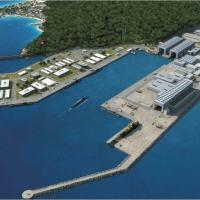 Marinha do Brasil está construindo um estaleiro e uma Base Naval em Itaguaí (RJ), com conclusão prevista para 2015