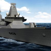 Conceito atual do Global Combat Ship Combat (GCS) Arte - BAE Systems