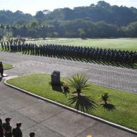 Fuzileiros navais durante a cerimônia