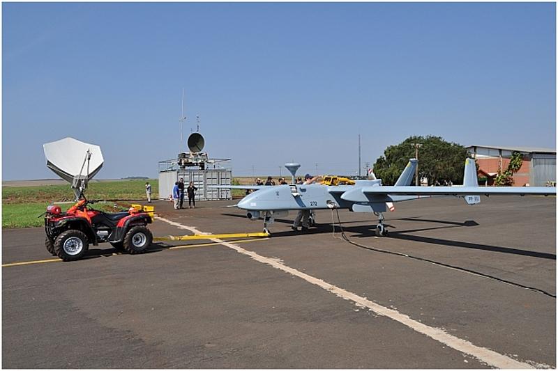 Presentado el sistema VANT HERON 1 de la Policia Federal de Brasil 3437