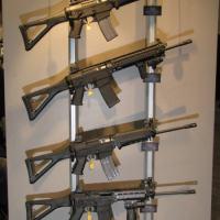 Várias versões do SIG 556