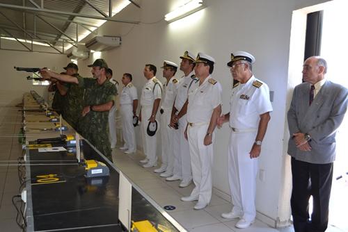 Jefe del Estado-Mayor General de la Armada de la Argentina visita lo Brasil 6374