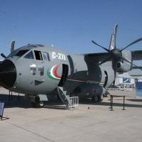 O C27J Spartan da Finmeccanica. Foto - Ricardo Fan