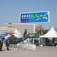 Chamada para o Pavilhão Brasileiro na FIDAE 2012. Foto - DefesaNet