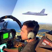 Do simulador no Brasil aos céus da América, segunda matéria da Cobertura Espcial sobre o caça F/A-18 Super Hornet II