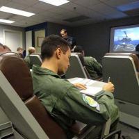 Aula do treinamento de sobrevivência para pilotos - Foto - DefesaNet