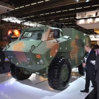 RG45 - BAE Systems mostra o novo  veículo à prova de minas na Eurosatory Foto - DefesaNet