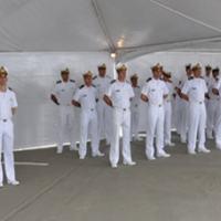 Cerimônia de aniversário do Centro de Guerra Eletrônica da Marinha. - Foto: MB