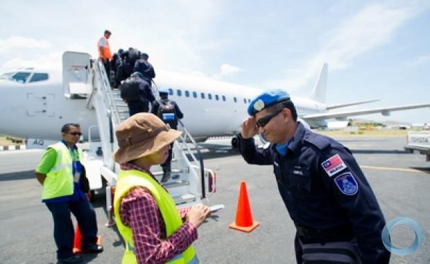 31/12/2012 - Timor-Leste - Encerrada Participação da ONU