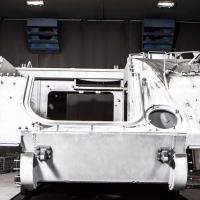 M113 - Em parceria com o Exército Brasileiro, estamos modernizando 150 veículos blindados, usados no transporte de tropas, para a configuração A2 MK1, além de fornecer treinamento sobre as atualizações feitas e a manutenção dos veículos Foto - BAE Systems