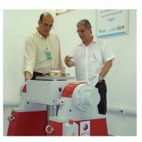 elson Monnerat, da INFAX, esq. e Marcos Pinto do IPqM – Instituto de Pesquisas da Marinha    Foto - FINEP