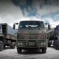 Com mais de 4 mil veículos, montadora já representa segunda maior frota das Forças Armadas brasileiras Foto - MAN-LA