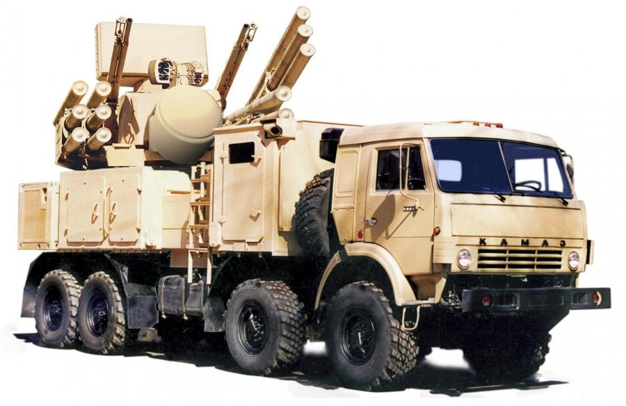 Sistema antiaéreo Pantsir-S. 13261