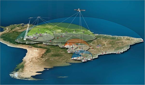 DefesaNet - Especial Espaço - Satélite geoestacionário vai ampliar
