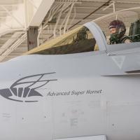 Boeing após três semanas de testes apresenta publicamente o Advanced Super Hornet Foto - Boeing