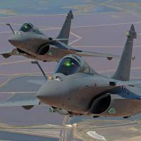 O caça Rafale. - Foto - Dassault