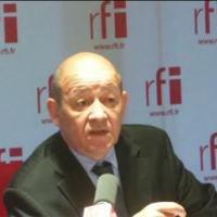O ministro da Defesa francês, Jean-Yves Le Drian. RFI