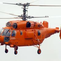 O helicóptero KAMOV Ka-32A11BC de múltiplas funções com rotores coaxiais da Helipark Táxi Aéreo. Foto - Russian Helicopters