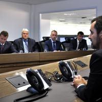 Delegação da Rússia liderada pelo vice-chefe do Departamento de Defesa da Ordem Constitucional da Rússia, Sergei Nikoláevitch Egórov   Foto - SESGE