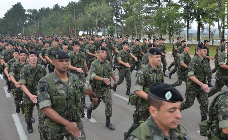 700 militares de Organizações Militares (OM) subordinadas à 3ª Divisão de  Exército