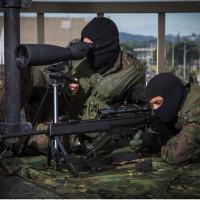 SNIPER, caçador na terminologia dos militares brasileiros, da FAB, durante a segurança do evento Rio +20. Foto - Agência FAB
