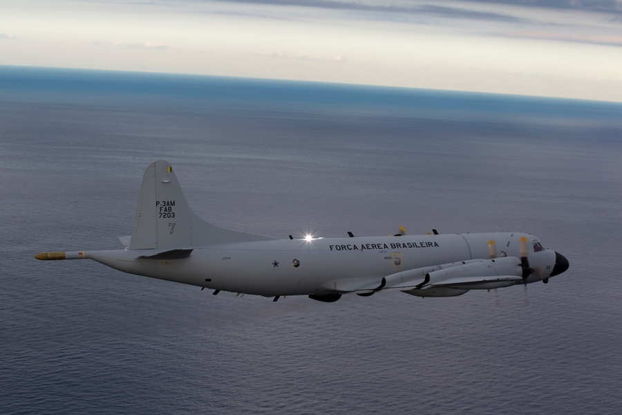 Entrega da frota completa: Aeronaves de patrulha da FAB Lockheed P-3AM Orion