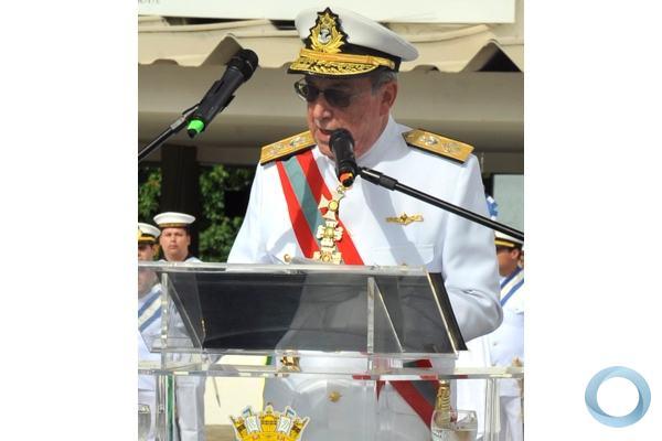 O novo chefe do EMA, almirante Guerra - Foto: PH Freitas