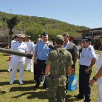 omitiva de Cooperação em Defesa Antiaérea Brasil-Rússia visita o Comando da Divisão Anfíbia
