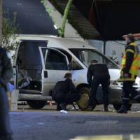 Ataque com uma van na noite de 22 de Dezembro. Foto - AFP
