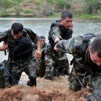 Cooperação internacional: De 2010 a 2014, os militares colombianos treinaram cerca de 20.000 soldados e policiais de 63 países graças a acordos de cooperação. [Foto: Mauricio Orjuela / Mindefensa]