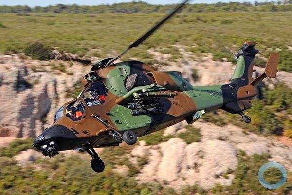 Tiger HAD Block 2 do Exército francês - Foto: Airbus Helicopter