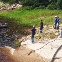 O programa prevê a instalação de 600 km de fibra ótica na Amazônia ainda este ano: 7 milhões de beneficiados - Foto: EB