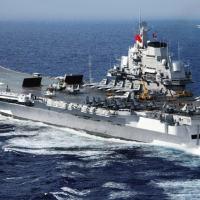 Liaoning, primeiro porta-aviões comissionado pela Marinha do Exército de Libertação Popular da China