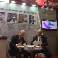 Akaer and SAAB's partnership became official on April 14 during LAAD Defence & Security 2015,