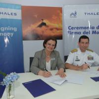 Cotecmar e Thales firmam convenio de cooperação naval na Colombia