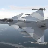 Artist's impression of the forthcoming Brazilian Gripen. (Saab)