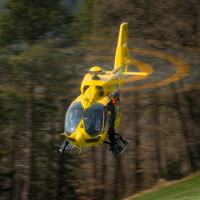 A picture of an H145 in flight is enclosed. (Ref. EXPH-0553-1 © Copyright Philippe Franceschini)
