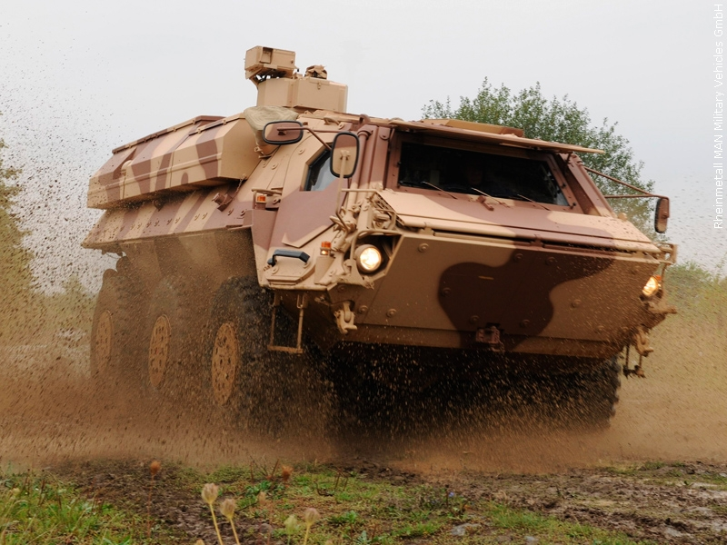 الكويت تتزوّد بمركبات استطلاع حديثة من شركة رينميتال الألمانية  26432