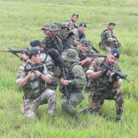 Militares brasileiros e argentinos durante exercício - Foto: Armada Argentina