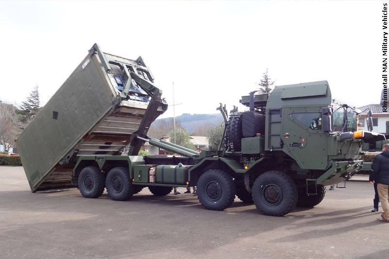 fe4fac459382cc Rheinmetall MAN Military Vehicles Australia hands over final vehicles to  New Zealand