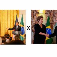 Em curto espaço de duas semanas a presidente Dilma Rousseff encontra-se com os líderes Americano e Russo. Fotos White House, Kremlim