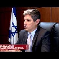 Embaixador de Israel Reda Mansour. Segundo ele, Israel também mantém programa de desenvolvimento de aeronaves de abastecimento