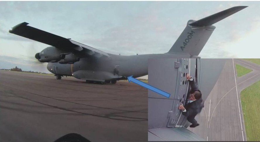 Defesanet Air A400m Makes Tom Cruise S Mission Possible