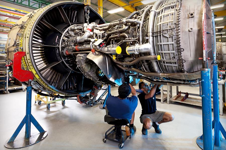 [Brasil]  Passo a passo da revisão de turbinas de avião: 60 dias na GE Celma 27254