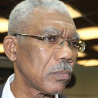 Presidente da Guiana, David Granger. FONTE: Sputnik News