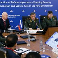 Chief of the General Staff General of the Army Valery Gerasimov took part in the International Conference on Interaction of Defence Agencies on Security in Afghanistan and Central Asia in the New Environment